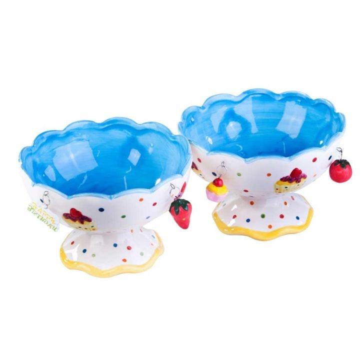 Conjunto Com 2 Saladeiras De Frutas