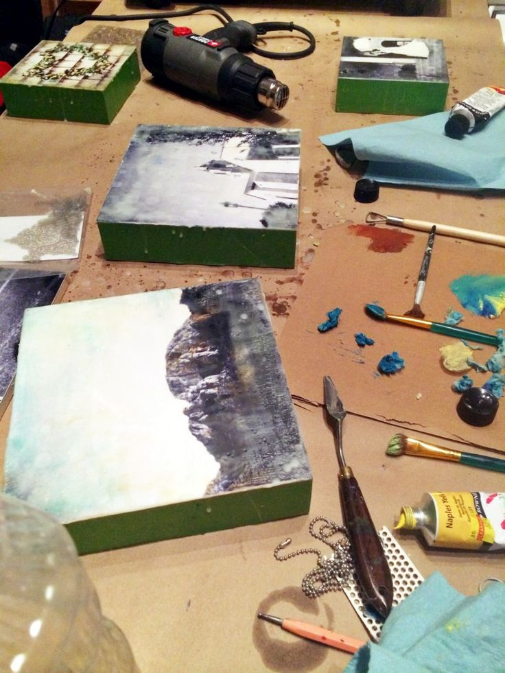 About Encaustic Artwork