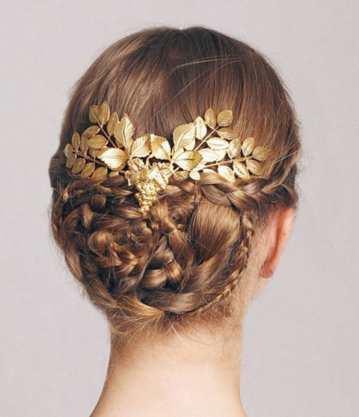 89 best coiffures mariage cheveux relev s images on pinterest hair bride hairstyles and weddings - Les plus belle coiffure de mariage ...