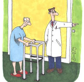 INSPIRED LIVING: Physical Therapy (Humor)
