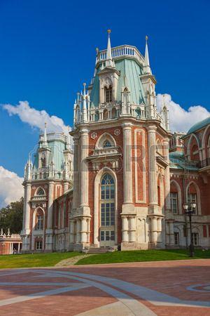 Tsaritsino palace - Russian museum at Moscow photo