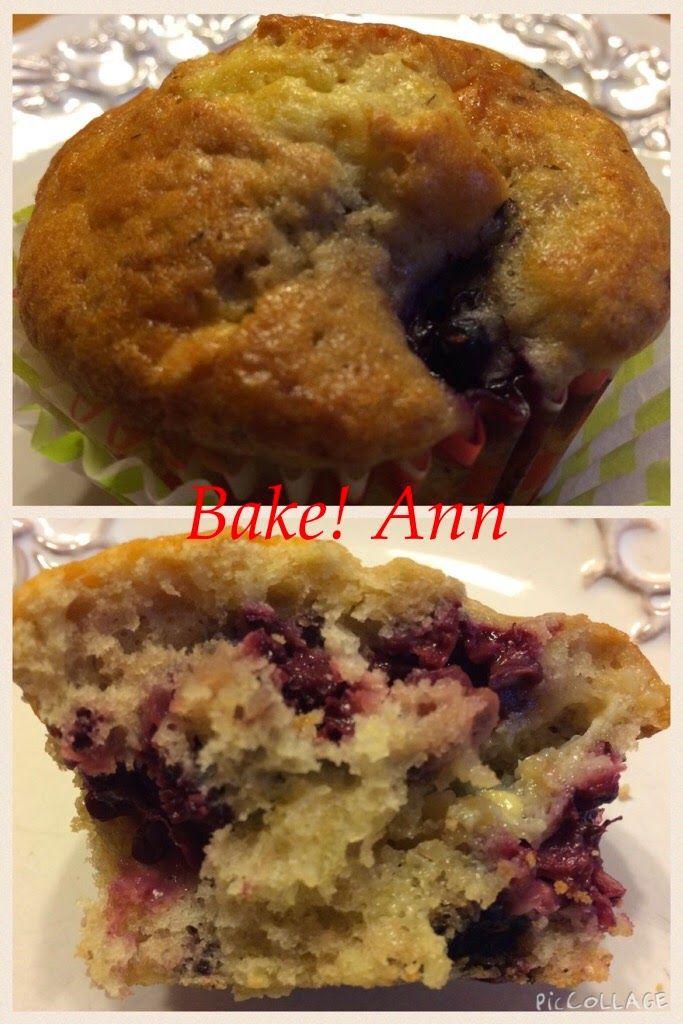 bake! Ann: Fehércsokis-szedres muffin