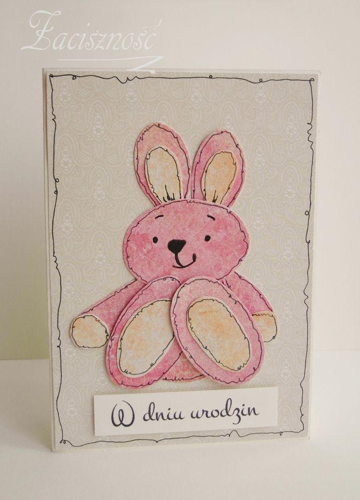 Ręcznie robiona kartka urodzinowa dla dziecka/  Handmade birthday card for a child