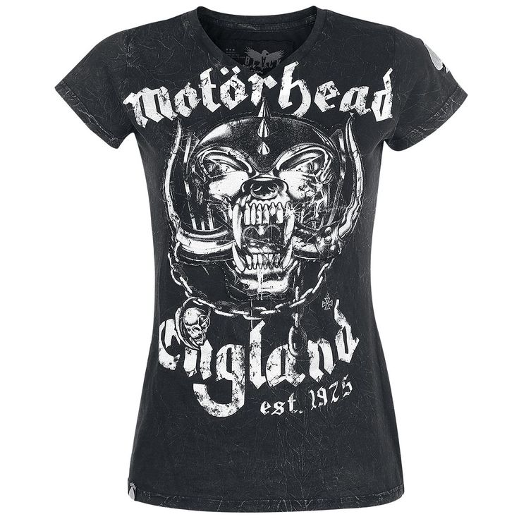 Motörhead  T-Shirt  »Black Premium by EMP Signature Collection« | Buy now at EMP | More Band merch  T-shirts  available online ✓ Unbeatable prices!