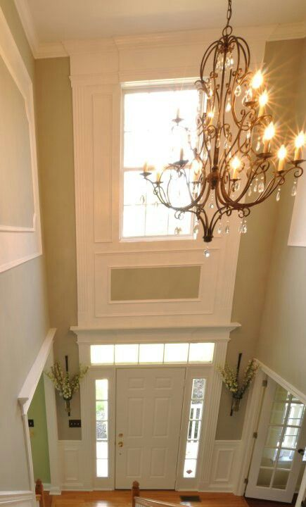 Foyer Trim Design : Living a beautiful life foyer millwork pinterest