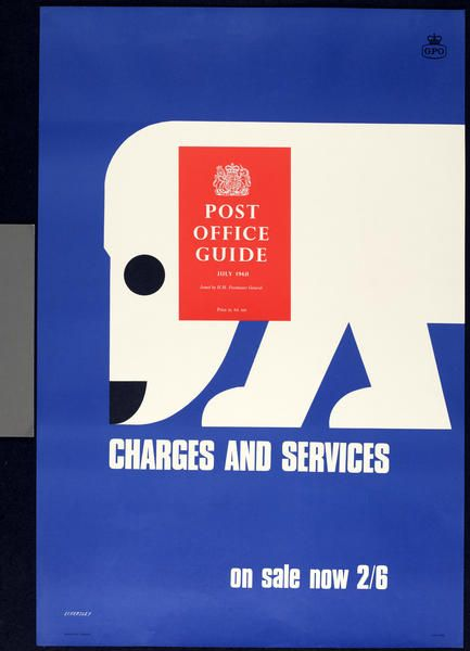 Tom Eckersley (1968), General Post Office promotional posters