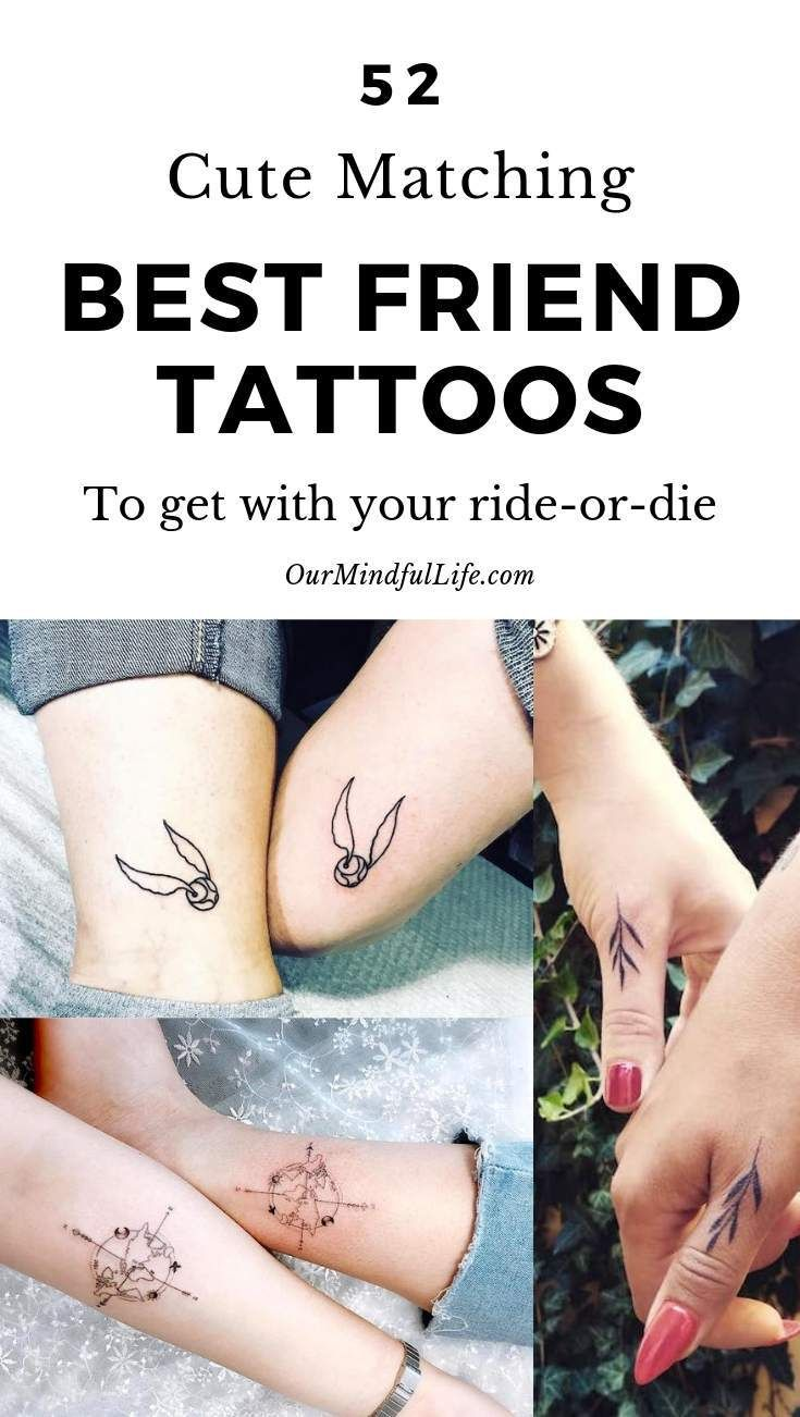 65 Hearty Matching Best Friend Tattoos And Meanings Friend Tattoos Matching Best Friend Tattoos Best Friend Tattoos