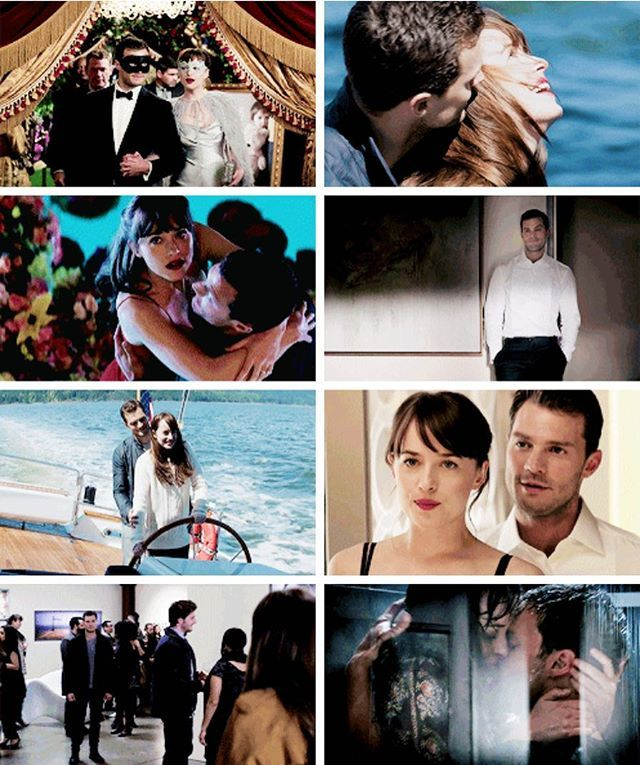 Fifty Shades Darker Movie Art | Dakota Johnson & Jamie Dornan