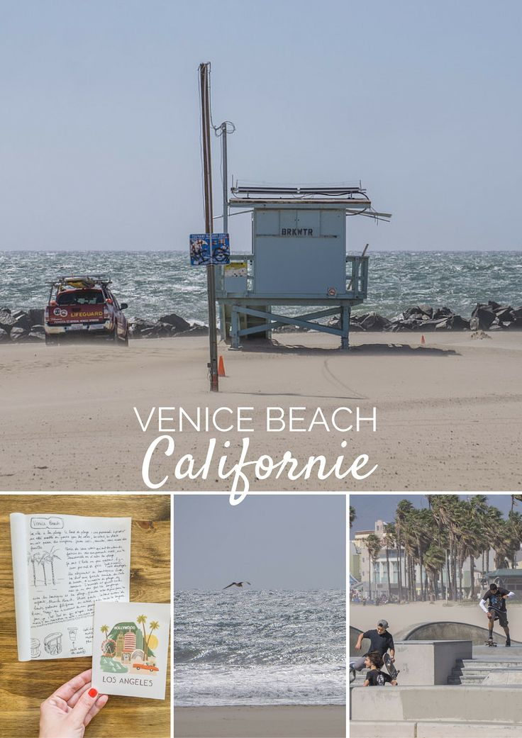 Venice Beach, Californie. This is it. Le voyage s'arrête ici, farniente, la plage, la douceur de vivre, faire du skate, regarder les gens passer, lire un livre en sirotant un smoothie.