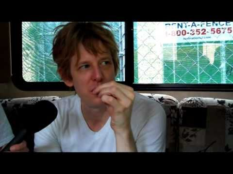 ▶ Spoon's Britt Daniel Interview Before Playing 80/35: John Pemble Video Blog - YouTube