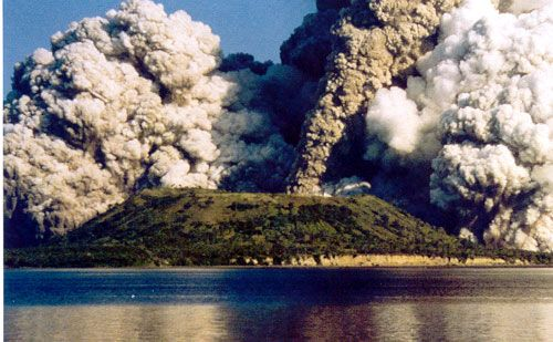 Rabaul Volcano, New Britain PNG.  http://www.pagahillestate.com/new-britain-the-island-with-it-all-2/