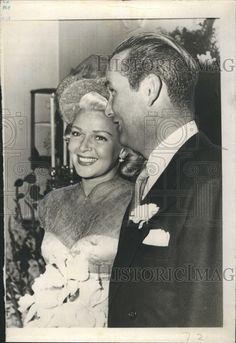 Lana Turner  new husband Henry Topping (1948)