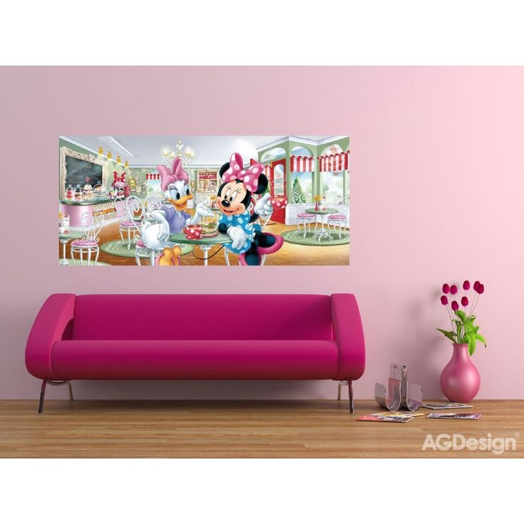 Minnie egér, Daisy kacsa gyerek poszter (202 cm x 90 cm)