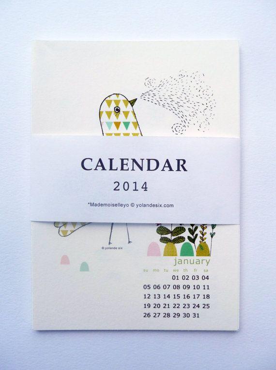 2014 Calendar - wall calendar 2014