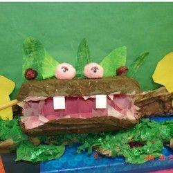 Egg Carton Hippo Craft