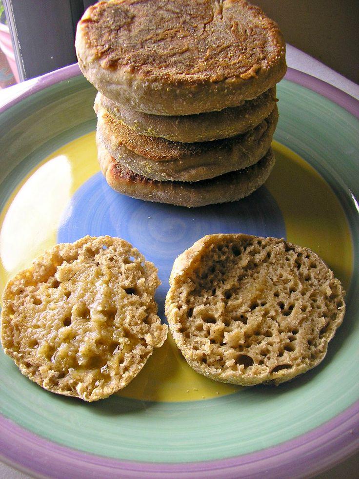 The Cobweb: Sourdough English Muffins #sourdoughsurprises