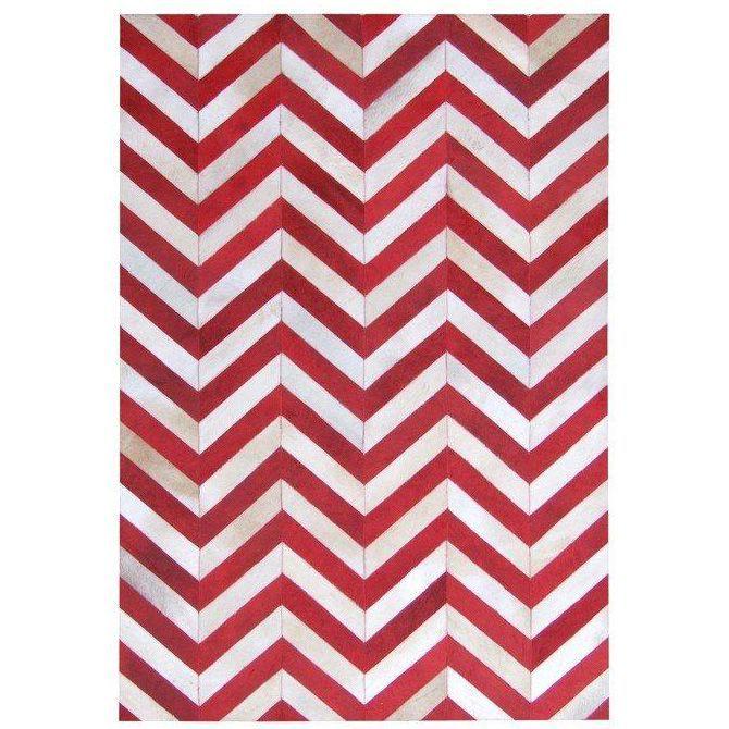 Красно-белый ковер из шкур Brown Cow #carpet #carpets #rugs #rug #interior #designer #ковер #ковры #коврыизшкур #шкуры #дизайн #marqis