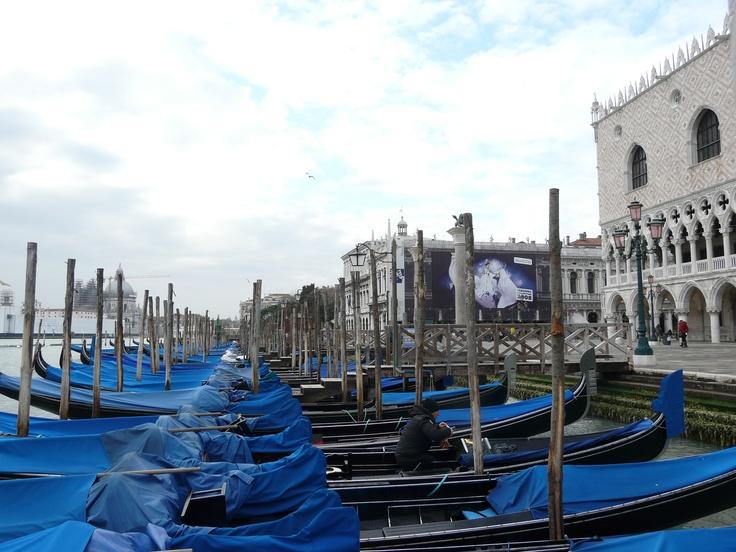 Venecia on winter