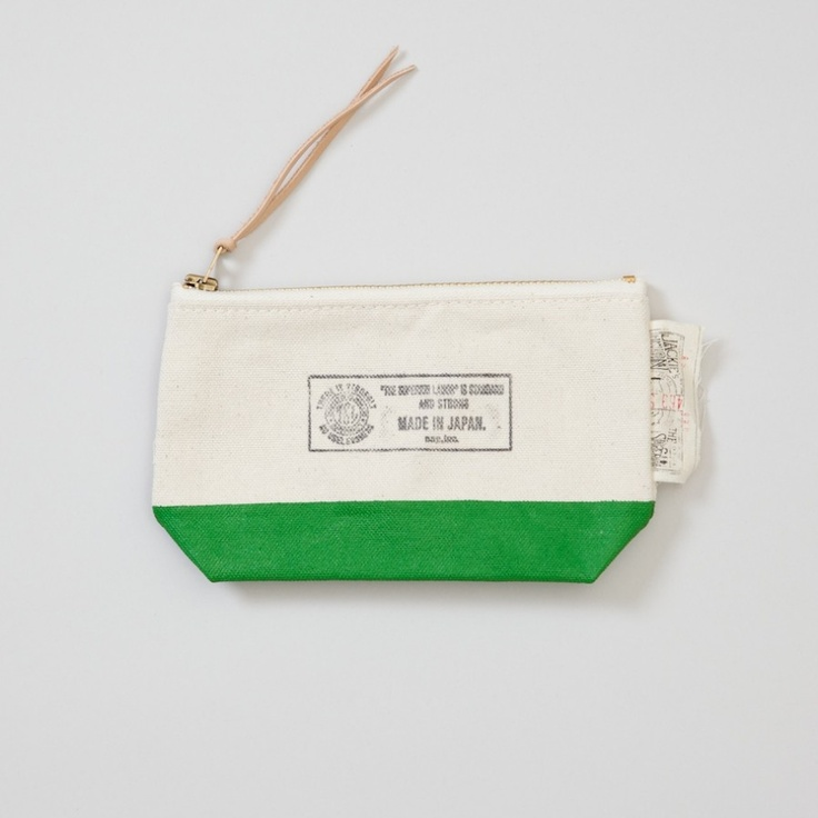 The Superior Labor- Engineer Pouch Natural Green Small