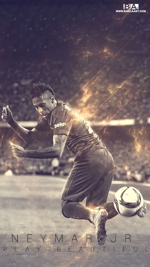 Wallpaper: Neymar #fcblive [by @barcaart_]