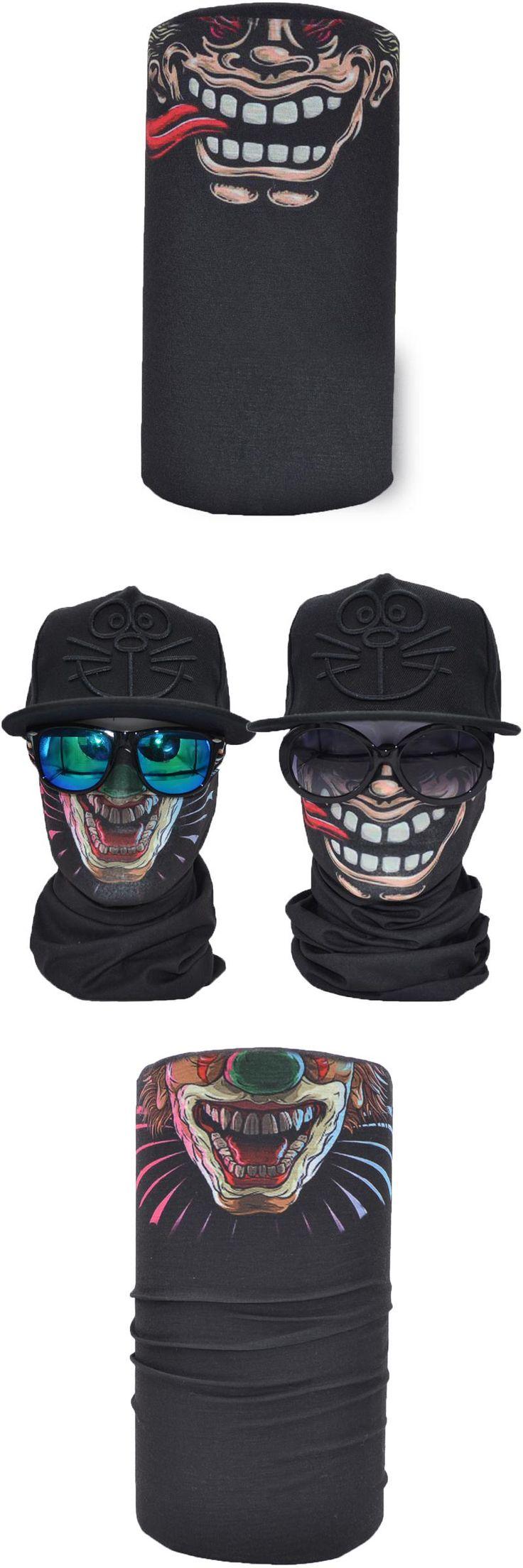 Half Face Mask Winter Warmer 2PCS Bandana Balaclava With Joker