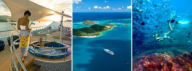 Wilderness Travel - Private cruise to French West Indies
