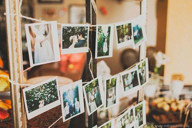 Майская свадьба Сергея и Насти в стиле рустик