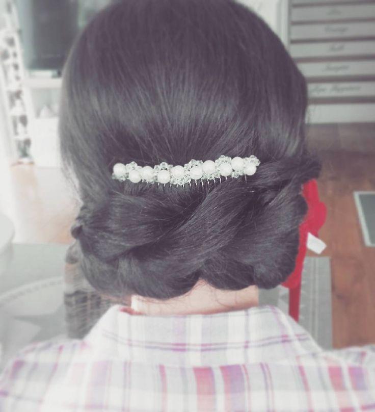 #365daysofbraids #day66 #weddingupdo #weddinghair #pullthroughbraid #hairstyle #braidschallenge #fryzuraślubna #warkocz #hairstylist #hairblog #ilovemyjob
