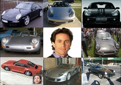 Jerry Seinfeld S Car Collection Consist Of More Than A 150