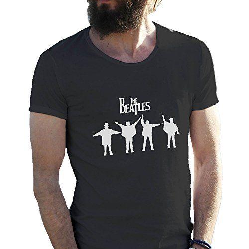 The Beatles Rock Kings 2016 Negro Camiseta para hombre en grandes tamaños 4X Large #camiseta #realidadaumentada #ideas #regalo