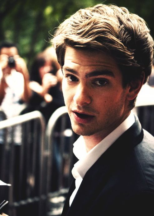 Andrew Garfield. still havent seen spiderman yet, but loved him in doctor who. cant wait!