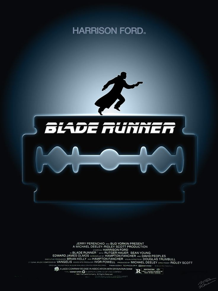 Blade Runner - fan art by aliasniko