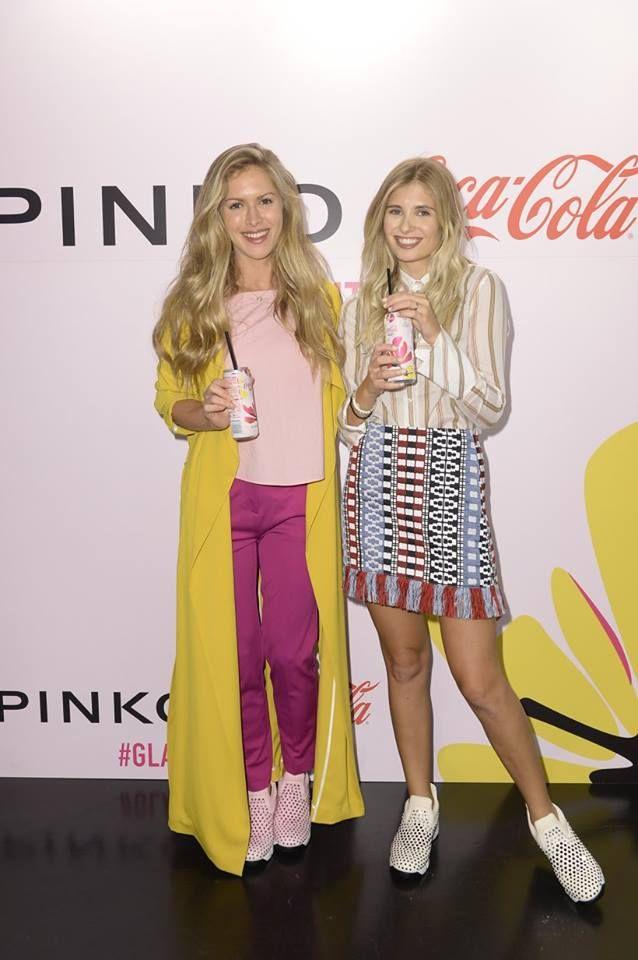 Maja Malnar and Xenia Overdose at PINKO and Coca-Cola light #GlamTaste event