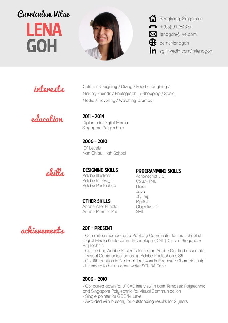 Pimp My Resume 10 Best Cv Images On Pinterest  Resume Resume Design And Curriculum