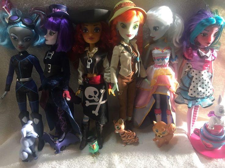 HUGE LOT ALL 6 Disney Attractionista Dolls    eBay