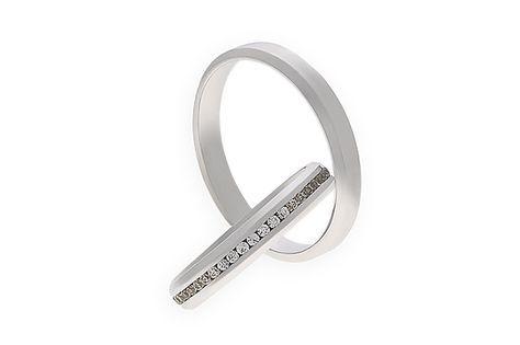 Snubní prsteny - model č. 408/02