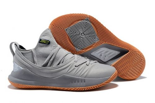low priced e4522 1990f Latest UA Curry 5 Grey And Gum - Mysecretshoes