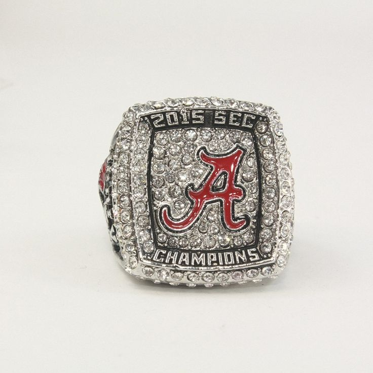 Unisex 2015 Alabama Crisimson Tide SEC NCAA National Championship Ring Size 11