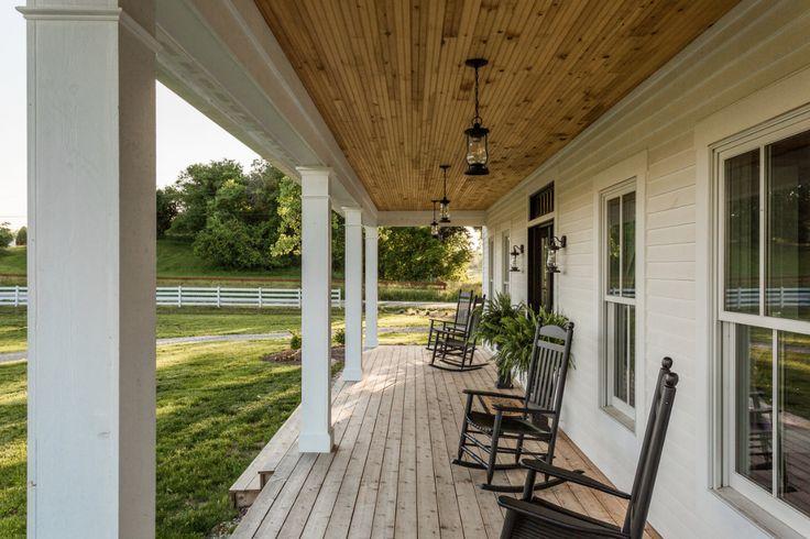 Fruit trees, a wraparound porch, and shiplap aplenty? Yes, please!