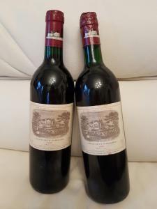 2 Flaschen 1989 - Château Lafite Rothschild - Pauillac - Premier