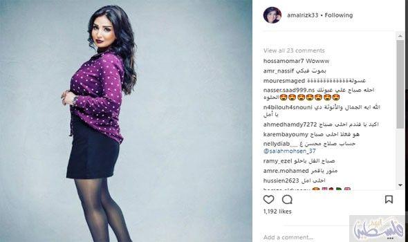 أمل رزق تشارك متابعيها وجمهورها صور ا في Sl 1