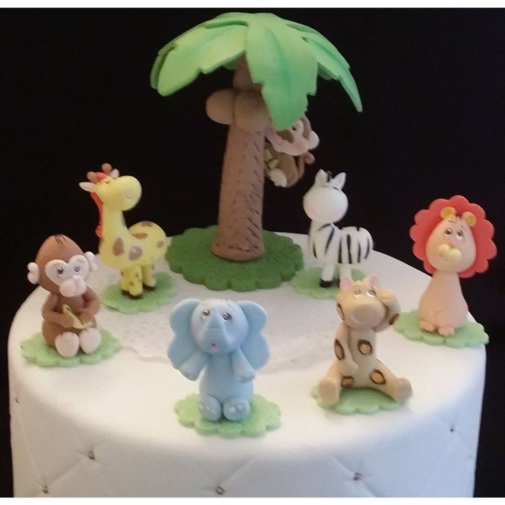 17 best ideas about safari cakes on pinterest jungle for Animal cake decoration