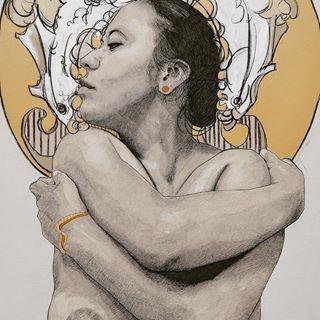 """""""Botón de oro"""" #portraitart #portraiture #portrait #print #paint #paints #painter #Paris #charcoal #charcoals #charcoalart #charcoalpencil #charcoaldrawing #draw #draws #draw🎨 #drawing #drawings #drawingoftheday #charcoaldrawing #oaxaca #oaxacalove #oaxacavivo"""
