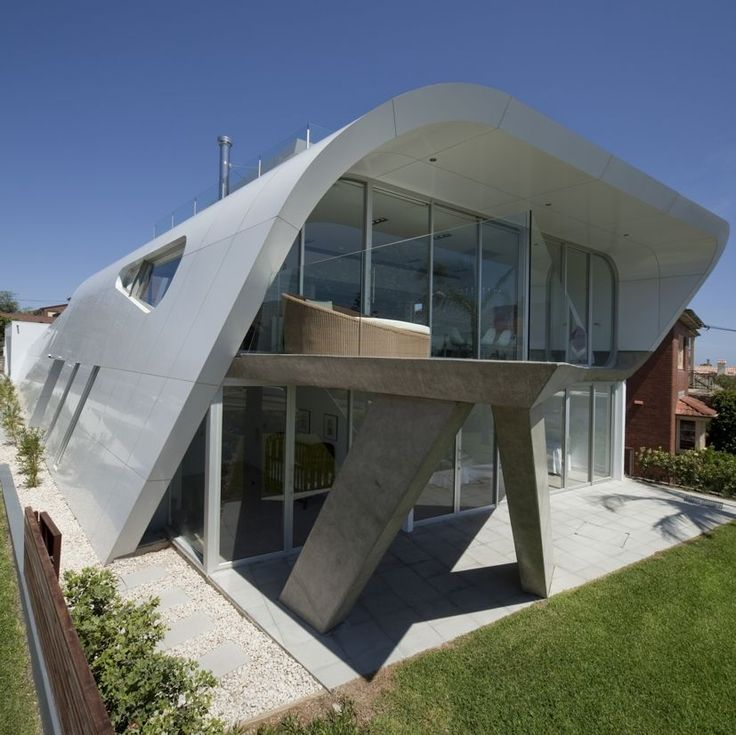 icf home designs%0A The Moebius House by Tony Owen Partners