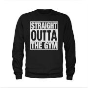 T-Junkie Mens Straight Outta The Gym Slogan Sweatshirt - Crafted from 100% soft Cotton this regular fit T-Shirt has a stylised print on the front, a crew neck and short sleeves. http://www.MightGet.com/march-2017-1/t-junkie-mens-straight-outta-the-gym-slogan-sweatshirt-.asp