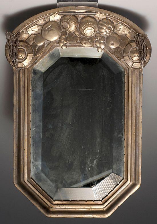 1000 images about art deco mirrors on pinterest half for Miroir art nouveau
