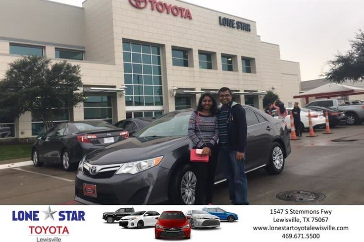 Congratulations Sreenivasulu on your #Toyota #Camry from Chris Richardson at Lone Star Toyota of Lewisville!  https://deliverymaxx.com/DealerReviews.aspx?DealerCode=E208  #LoneStarToyotaofLewisville