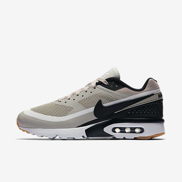 brand new 579a3 b35a7 Chaussure Nike Air Max Bw Pas Cher Femme et Homme Ultra Gris Pale Blanc  Jaune Gomme
