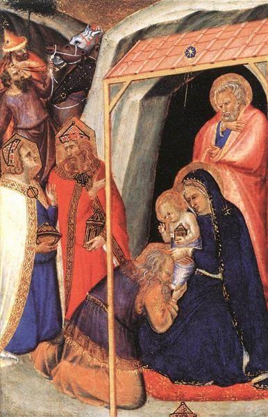 Adoration of the Magi, 1340 - Pietro Lorenzetti