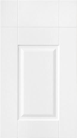 Melbury style vinyl wrapped kitchen doors.   www.kbstoretrade.co.uk
